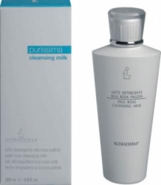 Легкое молочко для умывания «Чайная роза» для комбинированной кожи Клерадерм Pale Rose cleansing milk Kleraderm