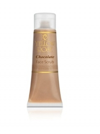 Шоколадный скраб Йелоу Роуз Chocolate Face Scrub Yellow Rose