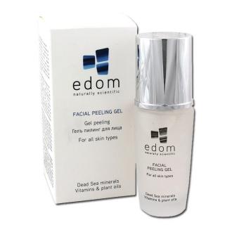 Гель-пилинг для лица с морскими водорослями Эдом Facial Peeling Gel Edom
