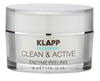 Энзимный пилинг Клапп Clean & Active Enzyme Peeling Klapp