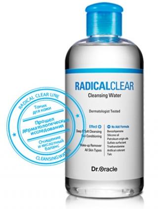 Мицеллярная вода Доктор Оракл RADICAL CLEAR Cleansing Water Dr.Oracle