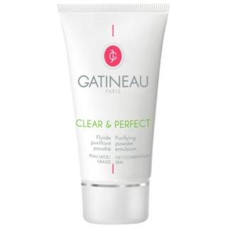 Очищающая эмульсия с пудрово-матирующим эффектом Гатино Clear & Perfect Purifying Powder Emulsion Gatineau