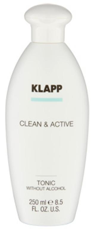 Тоник без алкоголя Клапп Clean & Active Tonic without Alcohol Klapp