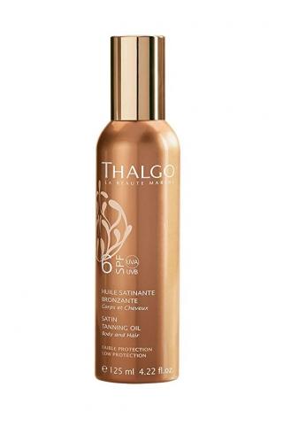 СЗФ6 атласное масло для загара Тальго SPF6 SATIN TANNING OIL THALGO
