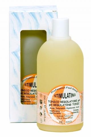 рH-регулирующий лосьон-тоник с гиалуроновой кислотой для всех типов кожи М.Маджи STIMULATING pH REGULATING TONIC Hyaluronic Acid M.Magi