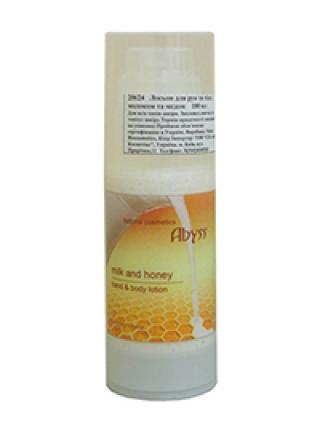 Питательный лосьон для тела молочно-медовый Спа Абисс Milk and Honey Body Lotion Spa Abyss