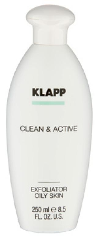 Эксфолиатор для жирной кожи Клапп Clean & Active Exfoliator Oily Skin Klapp