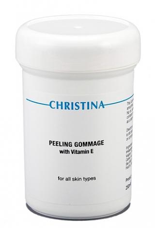 Пилинг-гоммаж с витамином Е для всех типов кожи Кристина Peeling Gommage with vitamin E Christina