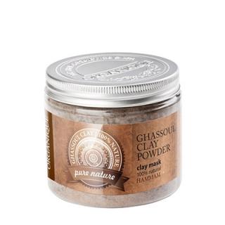 Косметическая глина Гассул Органик Argillotherapy Ghassoul Clay Powder Organique