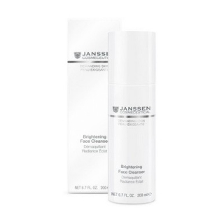Осветляющая очищающая эмульсия Янссен Brightening Face Cleanser Janssen