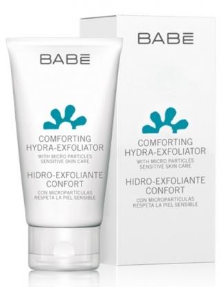 Мягкий увлажняющий скраб для лица Бэйби Лабораториз Comforting Hydra-Exfoliante Babe Laboratorios