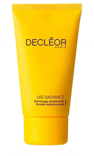 Скраб двойной для яркости кожи Деклеор Life radiance Gommage double Eclat Decleor