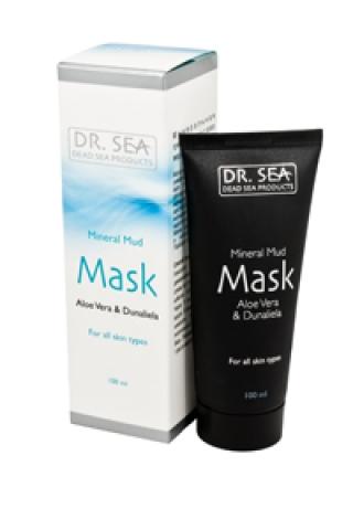 Минеральная грязевая маска с алоэ вера и дуналиеллой Доктор Си Mineral mud Mask Dr. Sea