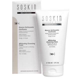 Очищающий мусс для лица с осветляющим эффектом СоСкин Whitening Cleansing Foam SoSkin