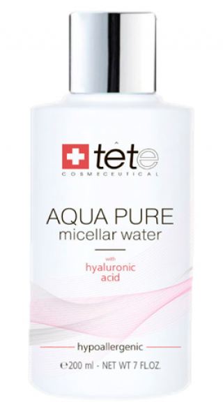 Мицеллярная вода с гиалуроновой кислотой Тете AQUA PURE Micellar water Tete