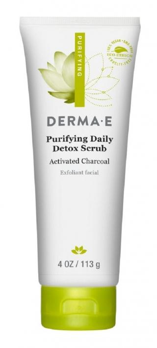 Очищающий ежедневный детокс скраб Дерма Е Purifying Daily Detox Scrub Derma E