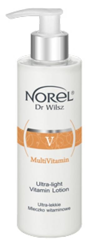Ультралёгкое очищающее витаминное молочко для всех типов кожи Норел MultiVitamin Norel