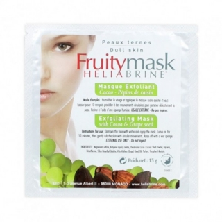 Отшелушивающая маска какао+масло виноградных косточек Элиабрин EXFOLIATING MASK with Cocoa & Grape seed Heliabrine