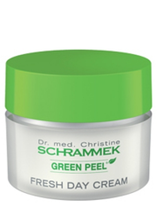 Освежающий дневной крем DAY CREAM FRESH GREEN PEEL SKIN CARE SCHRAMMEK