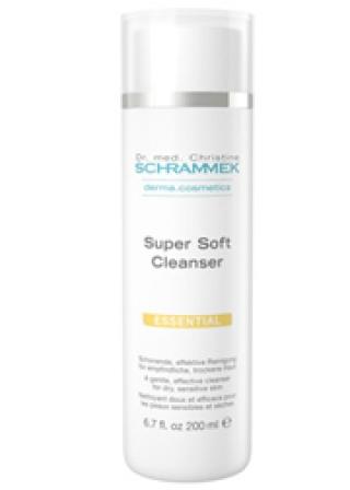 Мягкое очищающее молочко SUPER SOFT CLEANCER DERMA COSMETICS