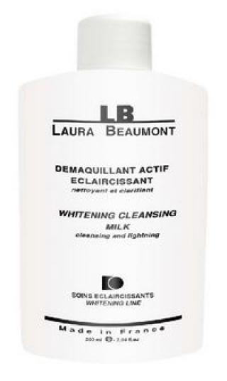 Осветляющее очищающее молочко Лаура Бомонт WHITENING CLEANSING MILK Laura Beaumont