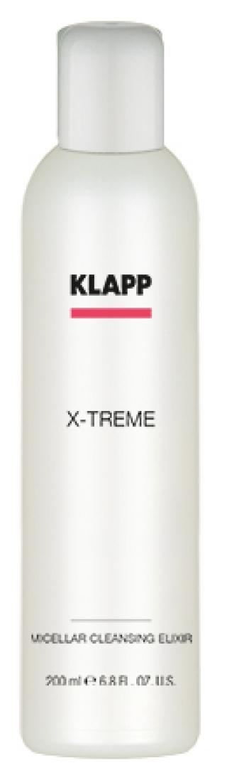 Мицеллярный очищающий эликсир Клапп X-treme Micellar Cleansing Elixir Klapp