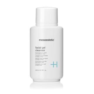 Очищающий гель для нормальной-комбинированной кожи Мезоэстетик Facial gel cleanser Mesoestetic