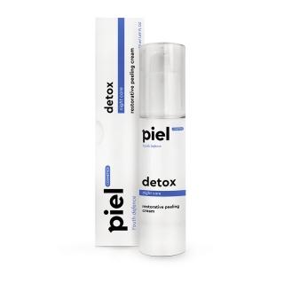 Регенерирующий ночной крем с пиллинг-эффектом Пьель косметикс Specialiste Silver Cream DETOX Piel cosmetics