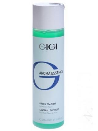 """Мыло """"Зеленый чай"""" для всех типов кожи Джи Джи AROMA ESSENCE Soap Green Tea For All Skin Types Gigi"""