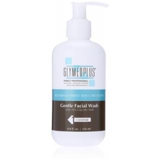 Нежная эмульсия для умывания с 10% АНА ГлайМед Плас Gentle Face Wash GlyMed Plus