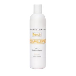 Мыло с альфагидроксильными кислотами Кристина Fresh AHA Cleansing Gel Christina