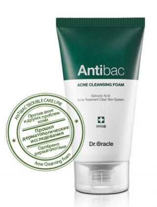 Антибактериальная пенка для умывания Доктор Оракл Antibac Acne Cleansing Foam Dr.Oracle