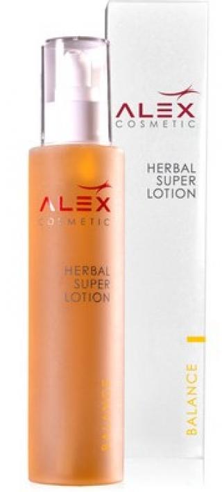 Успокаивающий, увлажняющий лосьон с экстрактом целебных трав Алекс Косметик Herbal Super Lotion Alex Cosmetic