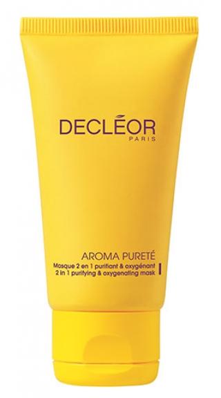 Маска очищающая насыщающая кислородом «2 в 1»  Деклеор Aroma Purete Masque 2 En 1 Purifiant & Oxygenant Decleor
