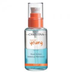 Средство для снятия макияжа двойного действия Кристина Forever Young Dual Action Makeup Remover Christina