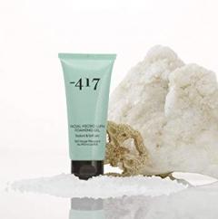 Пенка-гель для лица с микроволокнами люффы Минус 417 Facial Micro Luffa Foaming Gel Minus 417