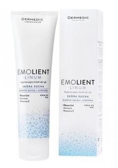 Крем для рук регенерирующий с Omega 3 .6. 9 Дермедик Linum Emolient Regenerating Hand Cream Dermedic