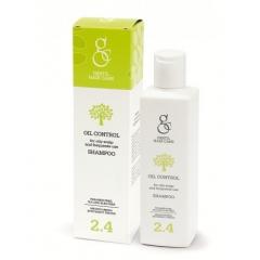Шампунь для жирной кожи головы, при себорее Гестил 2.4 Oil Control Shampoo Gestil