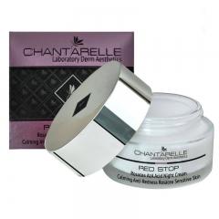 Ночной крем с азелаиновой кислотой, для кожи с куперозом Шантарель RED STOP Rosacea AzA Acid Night Cream Chantarelle