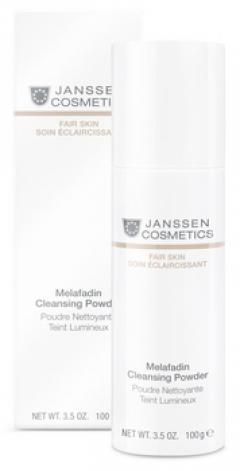 Осветляющая пудра для умывания Янссен Melafadin Cleansing Powder Janssen