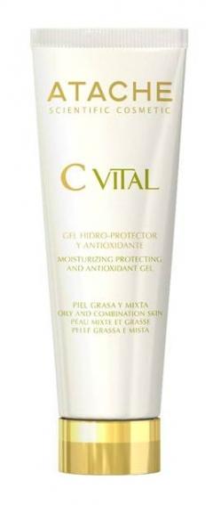 Увлажняющий защитный антиоксидантный гель для жирной и комбинированной кожи Атаче Hidroprotective and Antioxidant Gel Oily Skin Atache