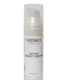 Активный ночной крем АНА 8% Ведара Active Night Cream Vedara