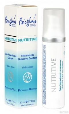 Увлажняющий питательный крем с витамином С Биожени NUTRITIVE Biogenie