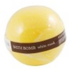 Шипучий шар для ванны Белый мускус Органик Bath Bomb White Musk Organique