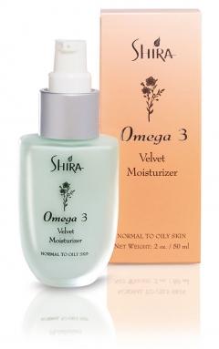Бархатный увлажнитель Шира Omega 3 Velvet Moisturizer Shira