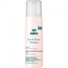 Мицеллярный мусс Нюкс Soins Demaquillants Micellar foam cleanser face Nuxe