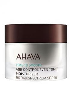 Крем омолаживающий увлажняющий, выравнивающий тон кожи SPF 20 Ахава Time to Smooth Age Control Even Tone Moisturizer Broad Spectrum SPF 20 AHAVA