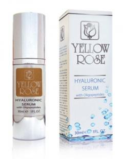 Сыворотка с гиалуроновой кислотой Йелоу Роуз Hyaluronic Serum with Oligopeptides Yellow Rose