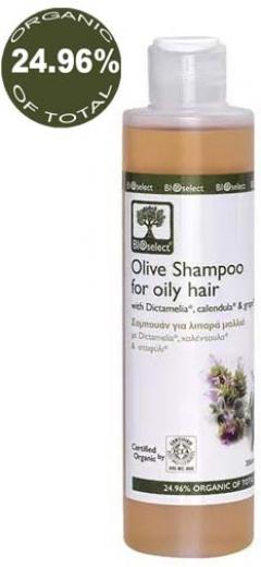 Шампунь для жирных волос БиоСелект Olive Shampoo for Oily Hair BIOSelect