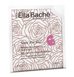 Био-целлюлозная розовая маска Элла Баше Bio-cellulose Rose Mask Ella Bache